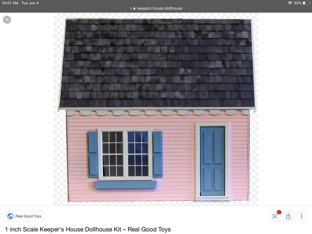 A screenshot of the Keeper's House from the Real Good Toys website.