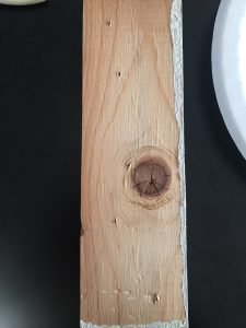 A picture of wood grain