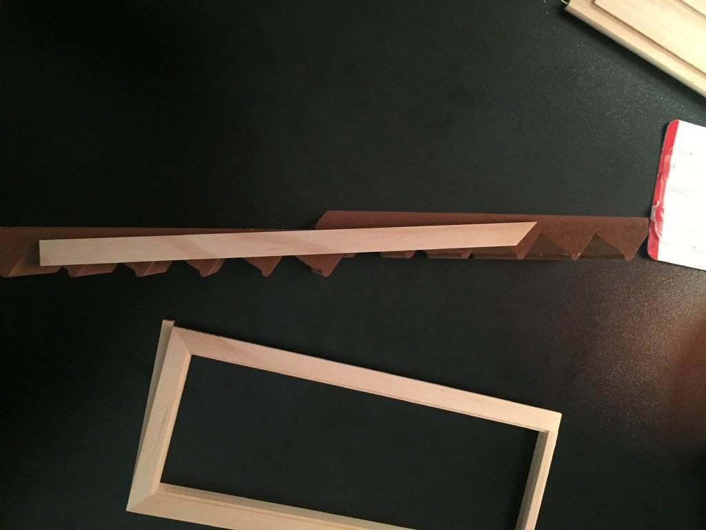 A picture of a piece of wood that is not the stair stringer