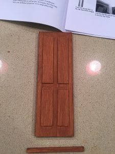 A picture of the door right side up
