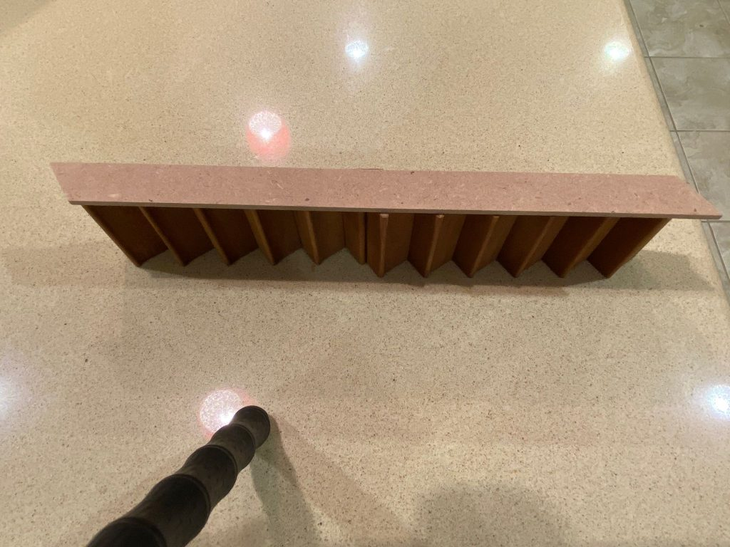 Stair Case and Stair Stringer Oriented Correctly