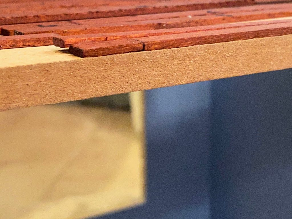 A hidden warped board