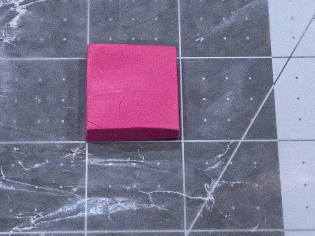 Making the first polymer clay tile