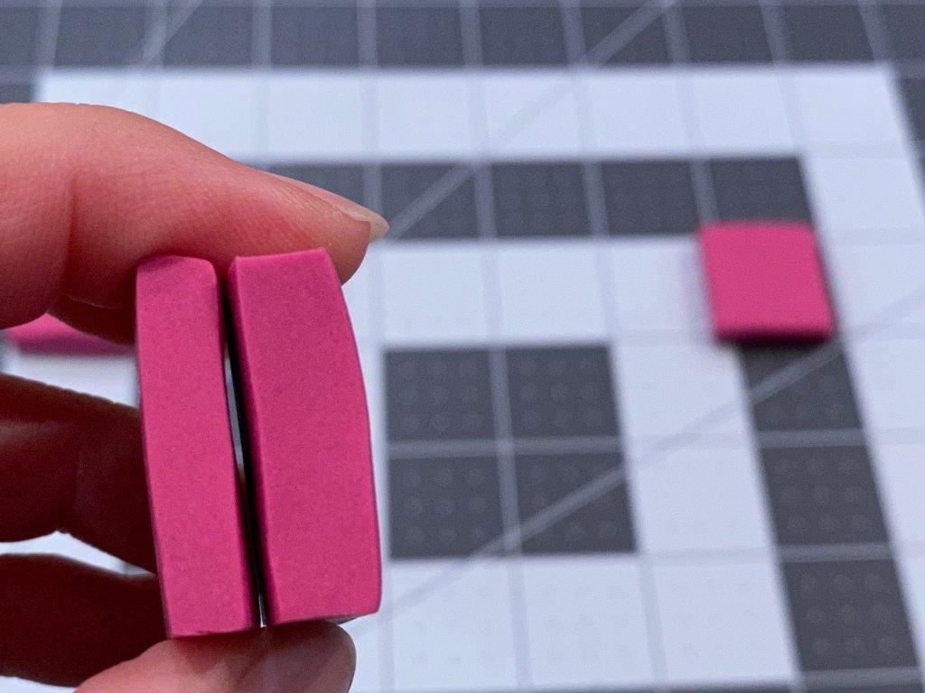 The final polymer tiles