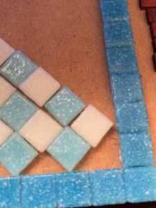 Laying the pattern 3
